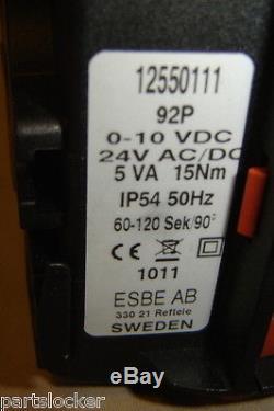 Danfoss 92p Actuator Esbe Valve Control 065f8955 Motor New