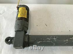 Dayton 4Z842 Linear Actuator 12 Inch Stroke 500lb Rating LIFT MOTOR 12 VOLT DC