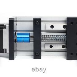 Double Shaft Ball Screw Linear Guide Rail 57 Motor 100mm Stroke 1204 Screw Rod