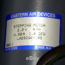 Eastern Air Device LA23DGK-1R5 Stepping Motor Linear Guide Rail 67mm 26.5