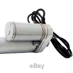Electric 14mm/s High Speed 18 Stroke Linear Actuator 220lbs Max Lift 12V Motor