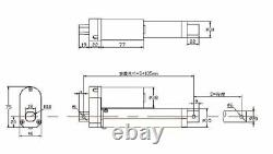 Electric Linear Actuator Cylinder Motor 750N 2000N 3000N 50-600mm DC 12V