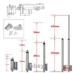 Electric Linear Actuator Lift Motor Stroke 2-18 Auto Marine Robotics 3A 12V