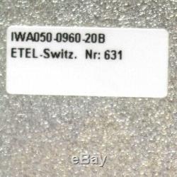 Etel Linear Motor 54.92 cm Travel IWA050-0960-20B with ILD24-050-2NA-A00A