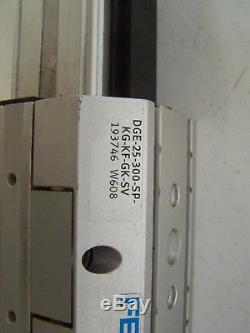 FESTO DGE-25-300-SP-KG-KF-GK-SV Linear Actuator / MTR-ST57-48S-AA motor