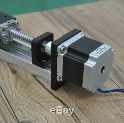 FUYU FLS40 Series G1605 Ballscrew Linear Guide Nema23 Stepper Motor 400mm CNC