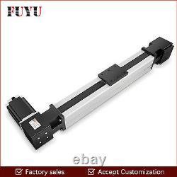 FUYU Linear Motion Guide CNC Belt Drive Rail Slide Stage Actuator Nema 24 Motor