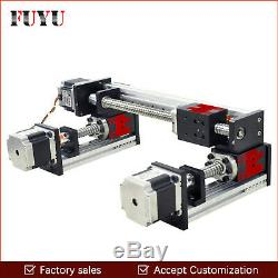 FUYU Linear Slide Rail Guide Stage Actuator CNC Motion Motorized Nema 23 H2 type