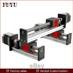 FUYU Linear Slide Rail Guide Stage CNC Motion Actuator Motorized Nema 23 H1 type