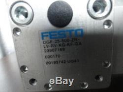 Festo DGE-25-750-ZR-LV-RF-KG-KF-GA Linear Actuator with Kollmorgen Servo Motor