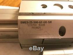 Festo Dmes-25-500-gf-gk-sh Linear Actuator, Festo Emms-as-55-s-ts Servo Motor, Yk