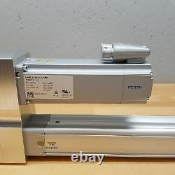 Festo ESBF-BS-40-535-10P Actuator With EMME-AS-60-M-LS-AMB Servo Motor NEW