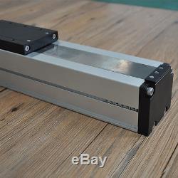 Free shipping New coming nema24 stepper motor 1.5M stroke aluminium guide rail