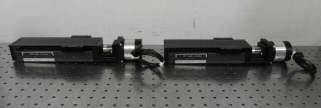 G160045 Lot (2) Thk Kr33 Lm Guide Actuator Positioning Linear Stages Withlin Motor