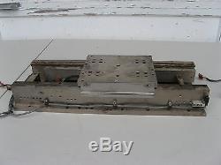 HIGH LOAD THK LINEAR BALLSCREW ACTUATOR STAGE 335mm Servo Drive Motorized QMC