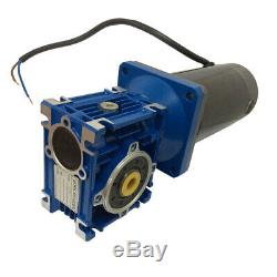 Head Large Torque DC 12V Worm Boxing Geared Motor 100W Power Electric Gear Motor