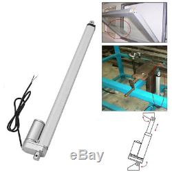 Heavy Duty 12 Inch Stroke Linear Actuator 330 Lb Pound Max Lift 12Volt DC Motor