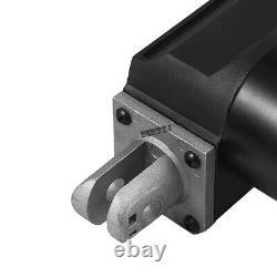 Heavy Duty 4-18 6000N Linear Actuator 1320lbs Max Lift 12V DC Motor + Brackets