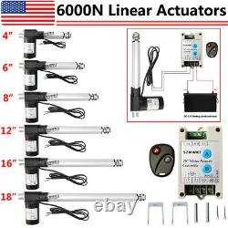 Heavy Duty 4-18 Electric Linear Actuator 1320lbs 12V Motor for Auto Lifting IG