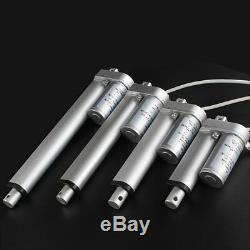 Heavy Duty Electric Stroke Linear Actuator Mechanical 24Volt DC Motor 12-60mm/S