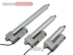 High Force Low-Noise 12V DC 150kg Compact Linear Actuator, Electric Piston Motor