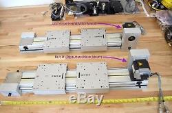 IEF Werner GmbH Linear Actuator Belt-Drive Vexta Nema34 Stepper Motor & Encoder