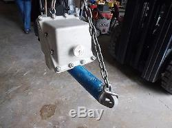 JORDAN CONTROLS LA-2520- 0126 LINEAR ACTUATOR WithLEESON 1/2 HP MOTOR (USED)