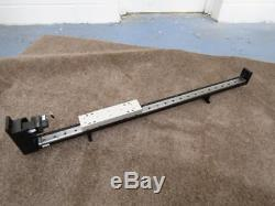 Large Motor Screw Driven Linear Table. 108cm Long With Motor Etc