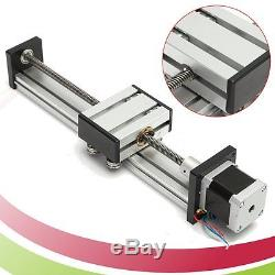 Lead Screw CNC Linear Slide Stage Stroke 200mm-500mm + 42 Actuator Stepper Motor