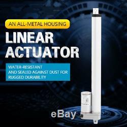 Linear Actuator 12V 750N Linearantrieb Linearmotor Verstellantrieb 150-700mm z0y