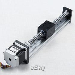 Linear Actuator 1605 200mm Ball Screw Motion Guide Rail with Motor for CNC Router