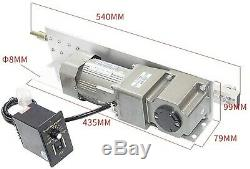 Linear Actuator AC Electric Motor+Speed Controller Kits 110/220V AC Geared Motor