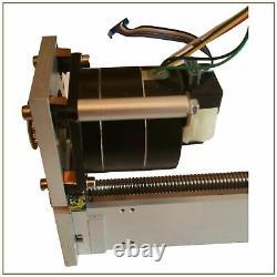 Linear Actuator Assembly. Ball screw, linear bearing, stepper motor & encoder