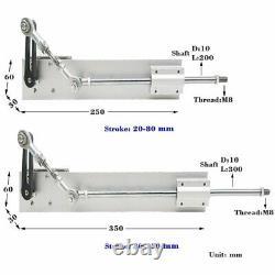 Linear Actuator Hubkolbenmotor DC 12V 24V 80mm 150mm für DIY Design mit Ständer