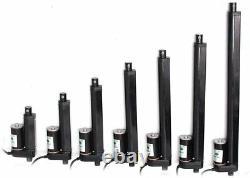 Linear Actuator Motor Stroke 750N-3000N 50-1000mm 2-40 inch DC 12V Heavy Duty