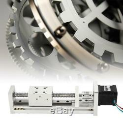 Linear Guide Rail Slide Stage Screw Guide Actuator Table With 42 Stepper Motor