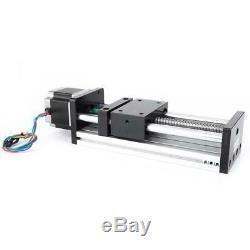 Linear Motion Double Shaft Ball Screw Guide Rail + Nema 42 Motor 200mm 12/16mm