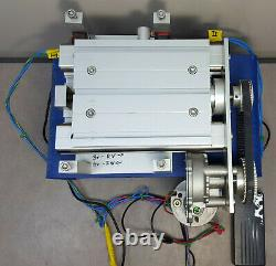 Linear Motion Motor Control Stage 6 X 5. 2.5 in travel, lead screw, aluminum f