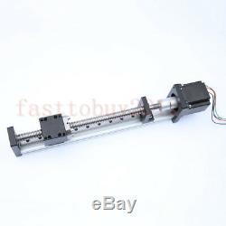 Linear Slide Stage Actuator Stroke L=200MM SFU1605 CNC Ball Screw NEMA23 Motor