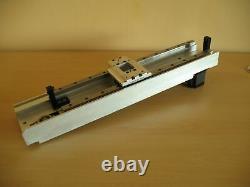 Linear actuator 440mm IKO rail belt drive Nema23 stepper motor X axis CNC