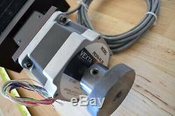 Lintech 150 Series Linear Ballscrew Actuator Vexta PK296-F4.5B Nema34 Step Motor