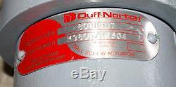 Lot of 3 DUFF-NORTON 5 Ton Ball SCREW JACK 46 with 1HP Leeson Motor Stearns Brake