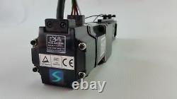 MITSUBISHI AC SERVO MOTOR HC-KFS23 & NSK MCH06005P05K linear Actuator