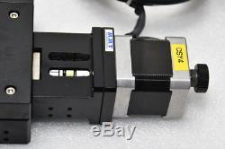 MMT Motorized Linear Stage Positioner Actuator, Pitch 1mm, Stroke 78mm