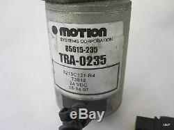 MOTION SYSTEMS CORP LINEAR ACTUATOR 24VDC 85615 235 with TRA-0235 Motor