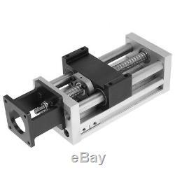 Manual Linear Ball Screw Slide Stroke 100mm 57 Stepper Motor Actuator For CNC