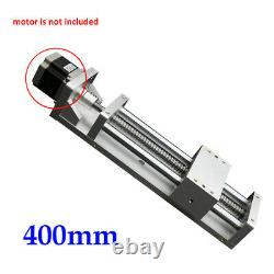 Manual Linear Rail Stage Module Cross Sliding Table Motorized X/Y/Z Axis 400 NEW