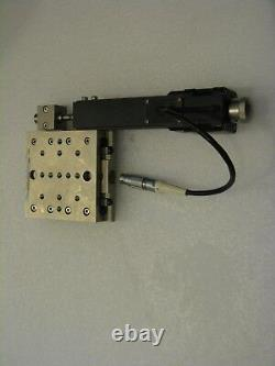 Melles Griot 17DRV014 Motorized Stepper Actuator with Linear Translation Stage