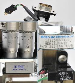 Melles Griot/MICRO MO 2621 Motorized Micrometer XYZ Optics Stage 10mm Travel