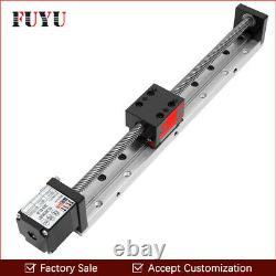 Mini Linear Guide Rail Stage Actuator CNC Screw Motion Slide Nema Stepper Motor